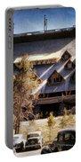 Old Faithful Inn Yellowstone  Portable Battery Charger
