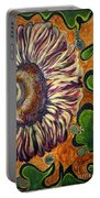 Old Fashion Flower 2 Portable Battery Charger