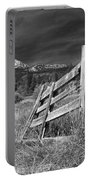 Old Fence At Mount Lassen Portable Battery Charger