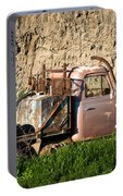 Old Flatbed International Truck Portable Battery Charger