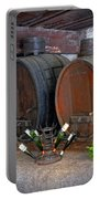 Old French Wine Casks Portable Battery Charger