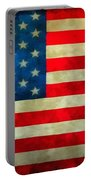Old Glory Portable Battery Charger by Dan Sproul
