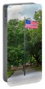 Old Glory High And Proud Portable Battery Charger