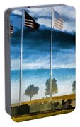 Old Glory-the American Flag Portable Battery Charger