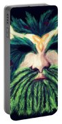 Old Green Man Winter Portable Battery Charger