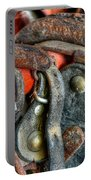 Old Horse Shoes Portable Battery Charger