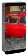 Old Italian Car Fiat 500  Portable Battery Charger