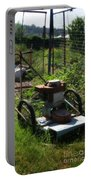 Vintage Lawn Mower Portable Battery Charger