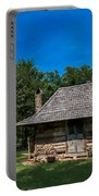 Old Log Cabin Three Portable Battery Charger
