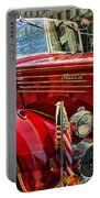 Old Mack Firetruck Portable Battery Charger