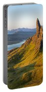 Old Man Of Storr - Pano Portable Battery Charger