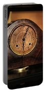 Old Mantelpiece Clock Portable Battery Charger