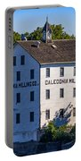 Old Mill In Caledonia Ontario Portable Battery Charger