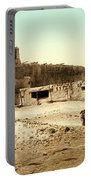 Old Mission Church At Acoma Portable Battery Charger