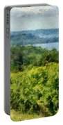 Old Mission Peninsula Vineyard Portable Battery Charger