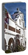 Old Mission San Luis Rey - California Portable Battery Charger