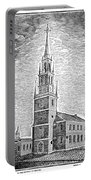 Old North Church, 1775 Portable Battery Charger