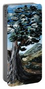 Old Olive Tree Portable Battery Charger