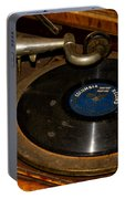 Old Phonograph Portable Battery Charger