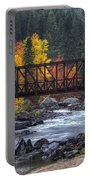 Old Pipeline Bridge Portable Battery Charger