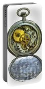 Old Pocket Watch Portable Battery Charger