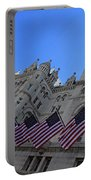 The Old Post Office Or Trump Tower Portable Battery Charger