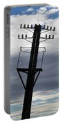 Old Power Pole Portable Battery Charger