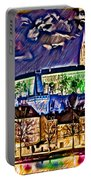 Old Prague Magic - Wallpaper Portable Battery Charger by Daniel Janda