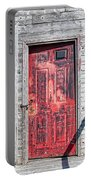 Old Red Door Portable Battery Charger