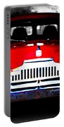 Old Red Truck Portable Battery Charger
