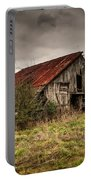 Old Rustic Barn Portable Battery Charger