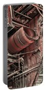 Old Rusty Pipes Portable Battery Charger