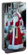 Old Saint Nick Walt Disney World Digital Art 02 Portable Battery Charger