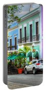 Old San Juan Street Portable Battery Charger