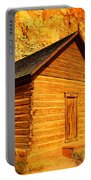 Old Schoolhouse Near Capital Reef Utah Portable Battery Charger by Jeff Swan