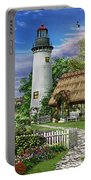 Old Sea Cottage Portable Battery Charger