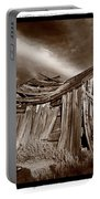 Old Shack Bodie Ghost Town Portable Battery Charger