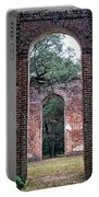 Old Sheldon Ruins Archway Portable Battery Charger