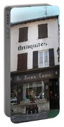 Old Shop In Tournus Portable Battery Charger