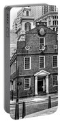 Old State House In Boston Portable Battery Charger