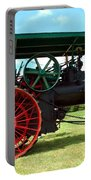 Old Steam Engine Portable Battery Charger