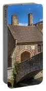 Old Stone Bridge In Bruges  Portable Battery Charger