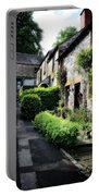 Old Terrace Houses - Peak District - England Portable Battery Charger