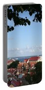 Old Town And Harbor - Tallinn Portable Battery Charger