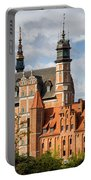 Old Town Of Gdansk In Poland Portable Battery Charger