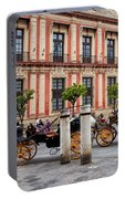 Old Town Of Seville In Spain Portable Battery Charger