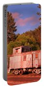 Old Train Caboose Portable Battery Charger