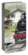 Old Train Engine Portable Battery Charger