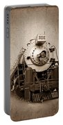 Old Trains Portable Battery Charger