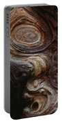 Old Tree Trunk With Knots And Patterns  Portable Battery Charger